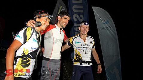 Кирил Николов-Дизела на финала на първия етап на прохода Арабаконак. Снимка: Николай Дончев/BGLive/SkiMag