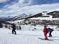 """В Сестриере – Италия изкуственият сняг е гладък и """"мазен"""" като сладолед"""