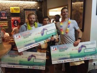 Remise des prix - Coupe de France de skimboard 2019 plage d'Ilbarritz Bidart