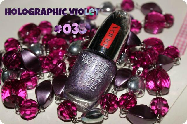 Holographic violet