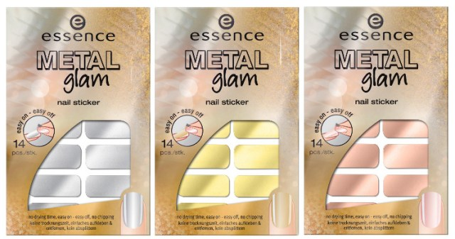nail sticker MetalGlam