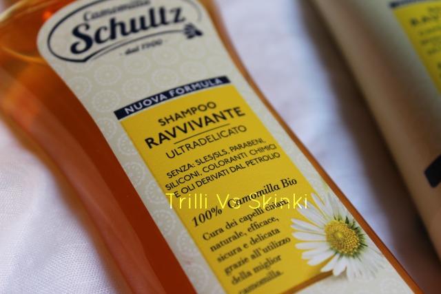 shampoo ravvivante Camomilla SChultz