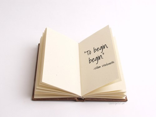 to begin begin wordsworth quote