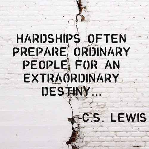 ordinary people extraordinary destiny