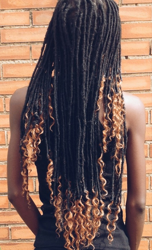 Bum length, goddess locs revamped, lightweight goddess locs, cheap goddess locs, protective style, creative, 4c hair chick, natural hair magazine, texture, faux loc, lagos life, #wordpress, #freshly pressed