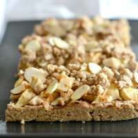 Apple Cinnamon Crumb Bars {GF, Vegan}