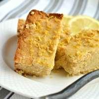 Paleo Coconut Lemon Cake {GF, Low Cal, Paleo}