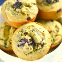 Blackberry Quinoa Muffins {GF, Low Cal}