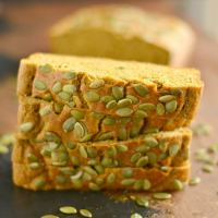 Sugar Free Pumpkin Bread {GF, Low Cal, Paleo}