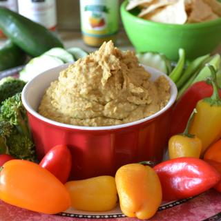 Skinny Bean Dip Hummus Recipe