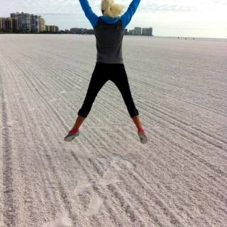 Why We love to Workout on the beach
