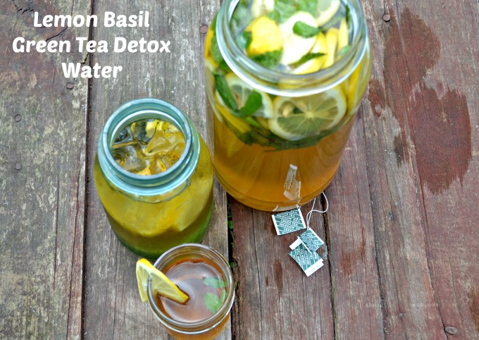 Green Tea Detox Water