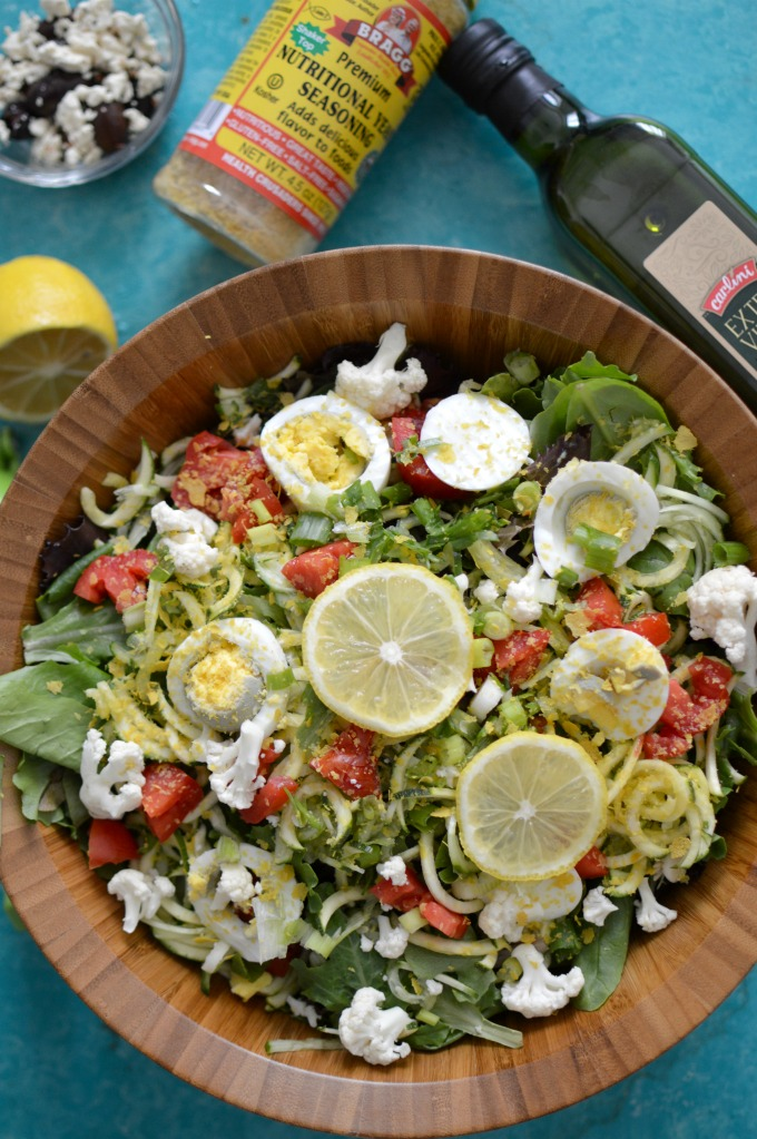 Detox Arugula Salad with Nutritional Yeast Benefits