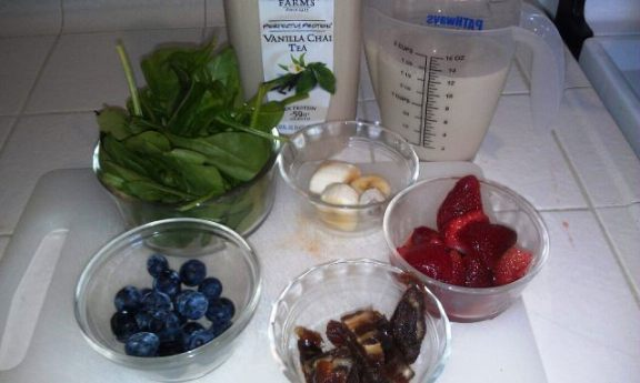 The Multi-colored Ingredients for a Delicious Green Smoothie