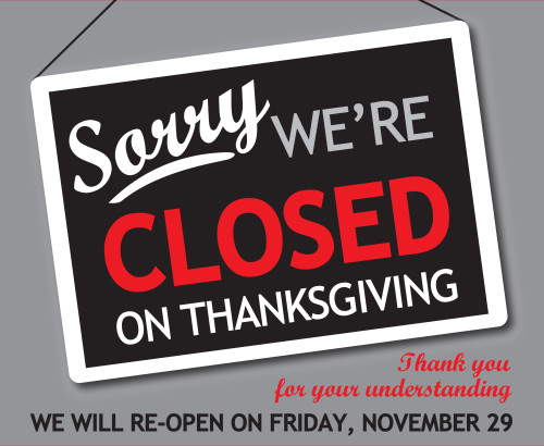 Closed For Holiday Signage - Best Holiday 2018 - holiday signs for closing office
