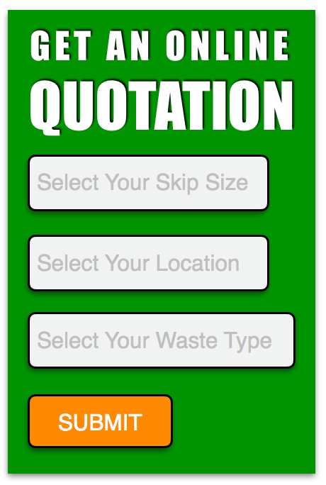 Online quotation form