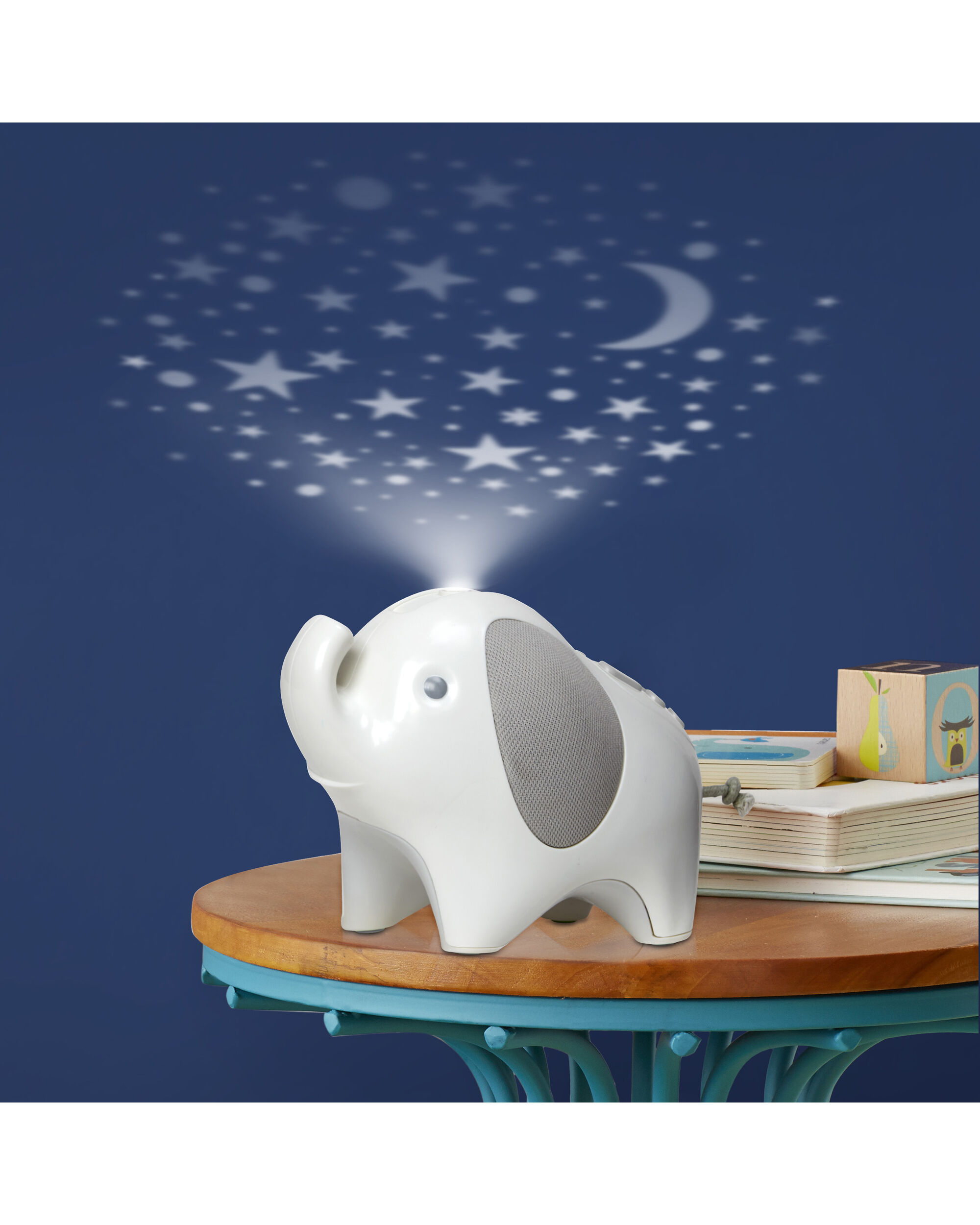 Baby Musical Night Light Moonlight And Melodies Nightlight Soother Elephant Skiphop