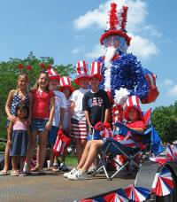 Fourth of July decorations | Skip To My Lou