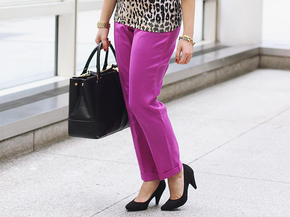 Radiant Orchid Pants