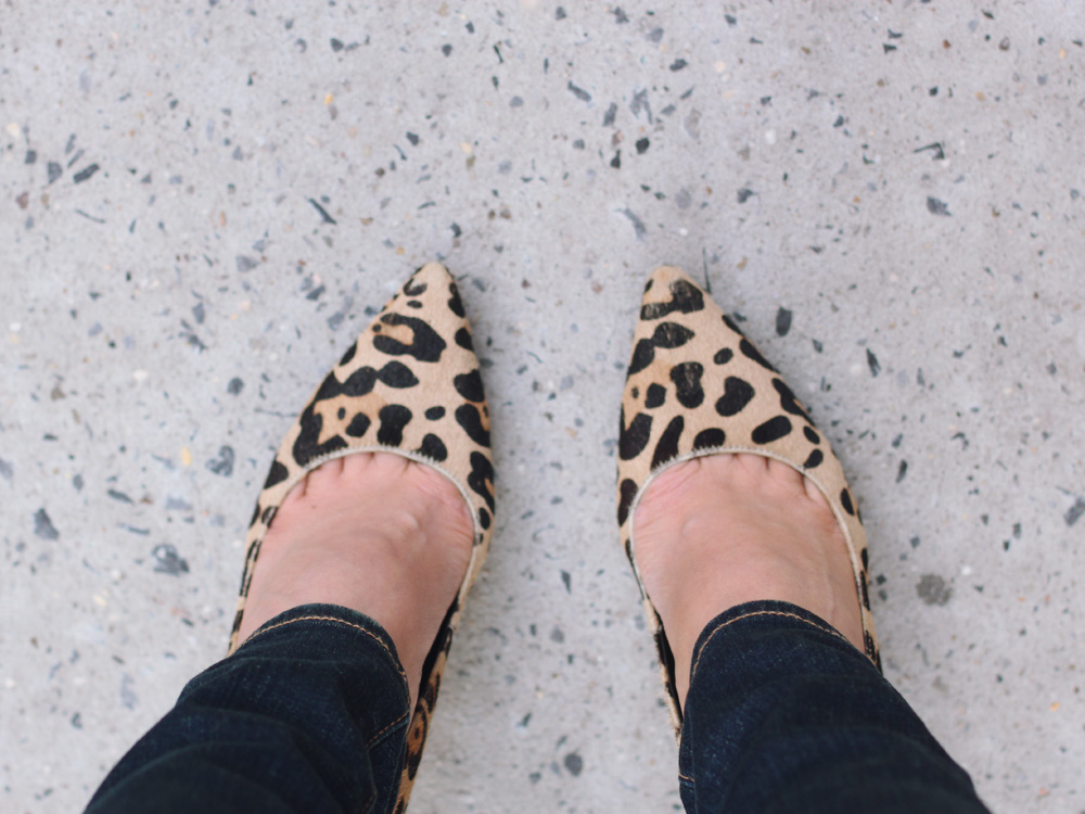 DVF Leopard Pumps