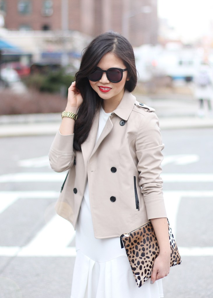 Skirt The Rules // Cropped Trench Coat