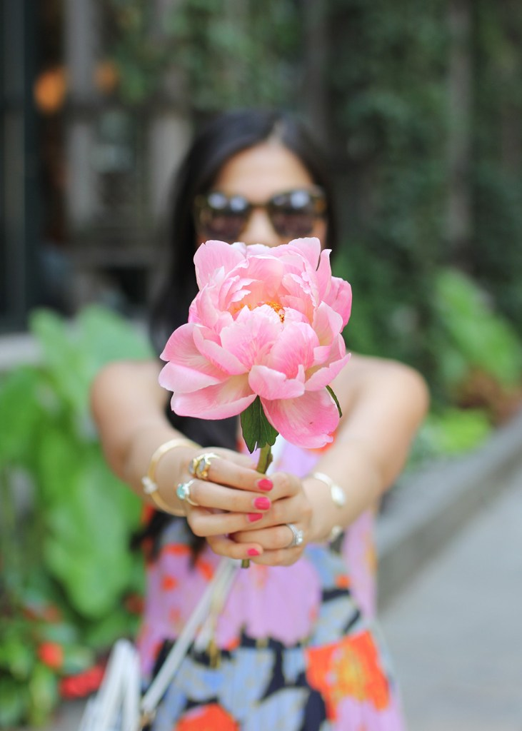 Skirt The Rules // Floral Maxi Dress