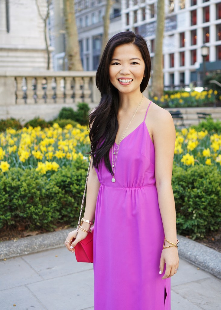 Skirt The Rules / Radiant Orchid Maxi Dress
