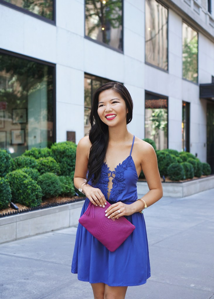 Skirt The Rules / Plunging Neckline Party Dress