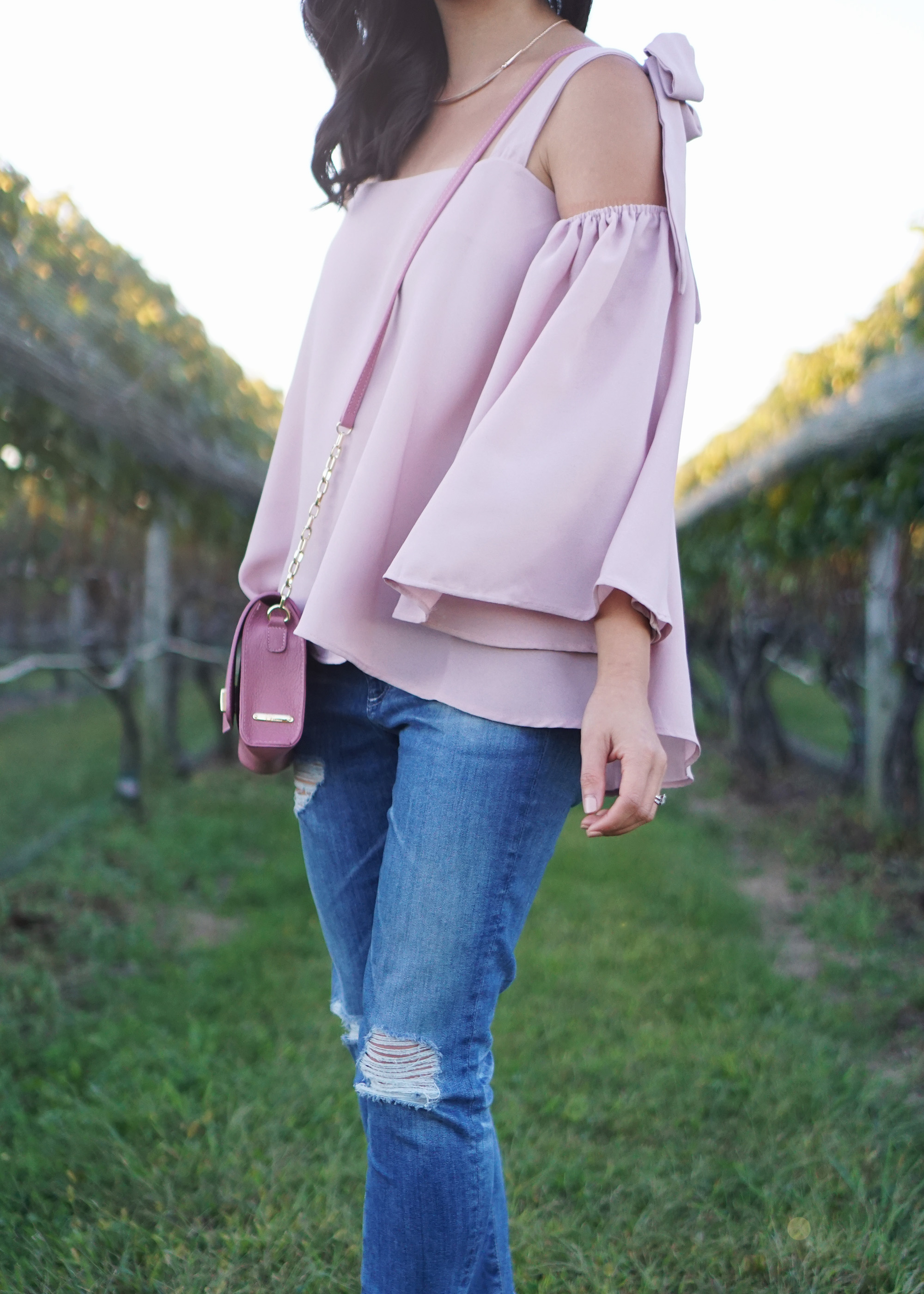 Skirt The Rules / Flowy Bell Sleeve Top