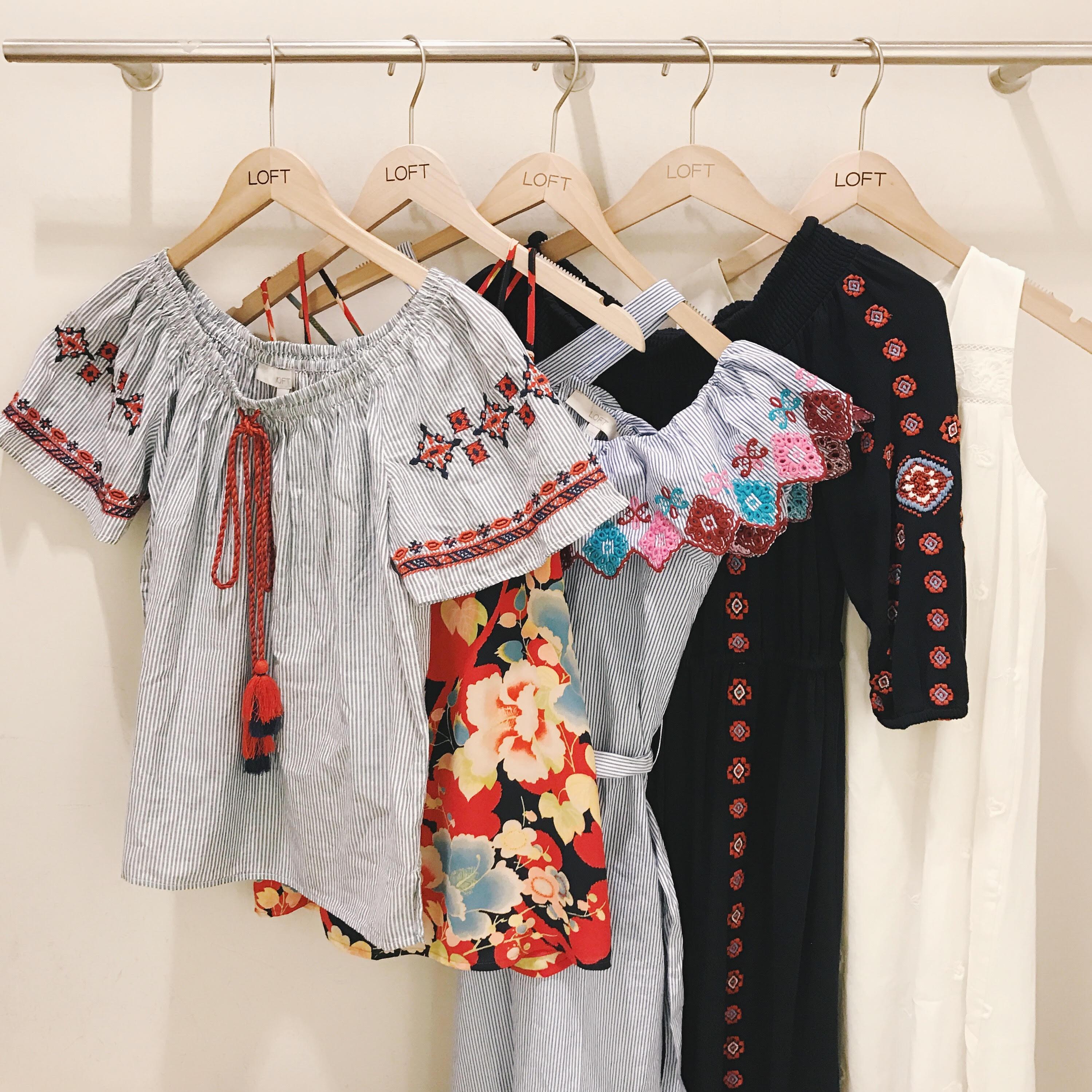 Fitting Room Try On / LOFT Summer 2017