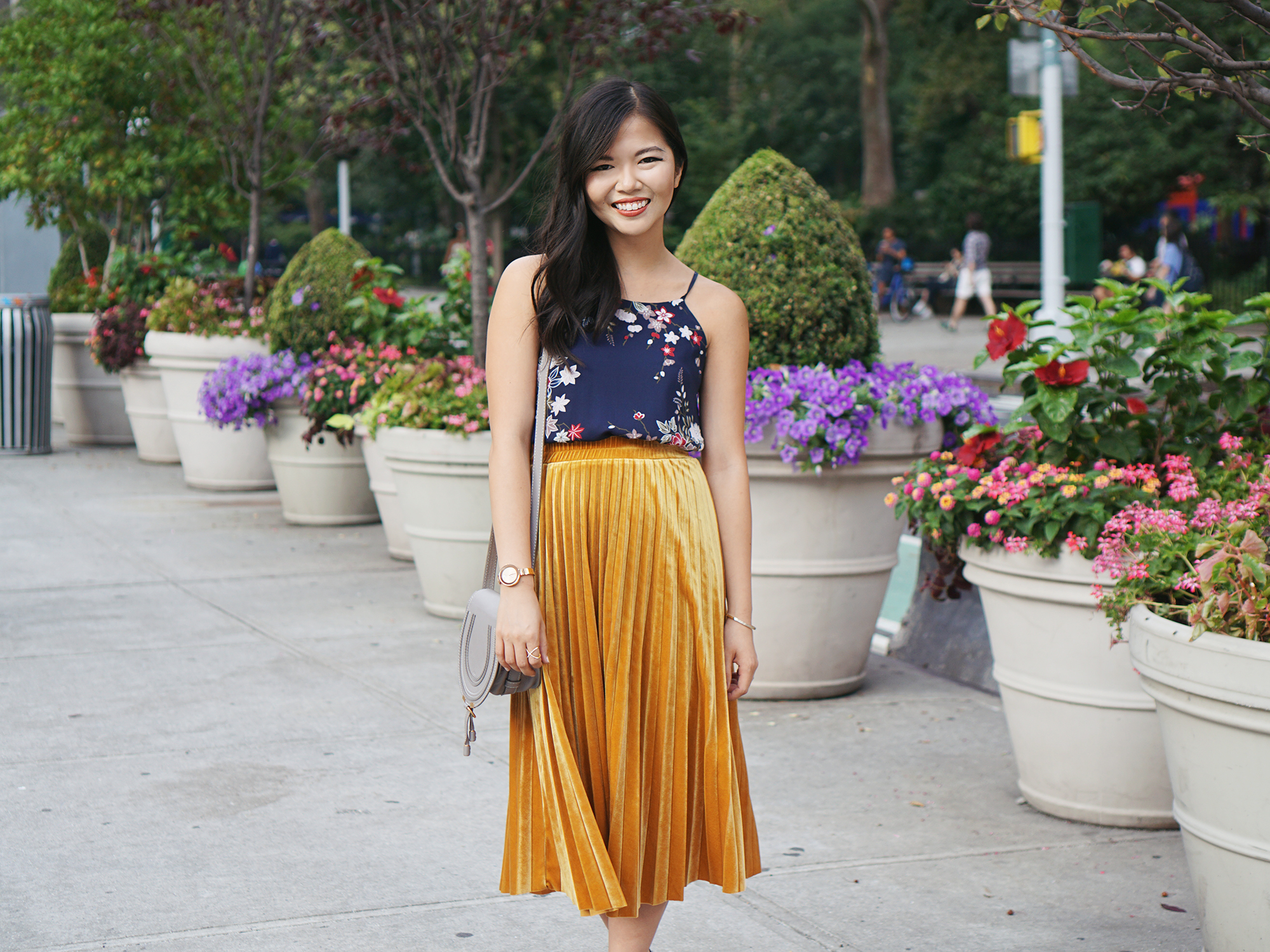 Petite Style: How to Wear a Midi Skirt