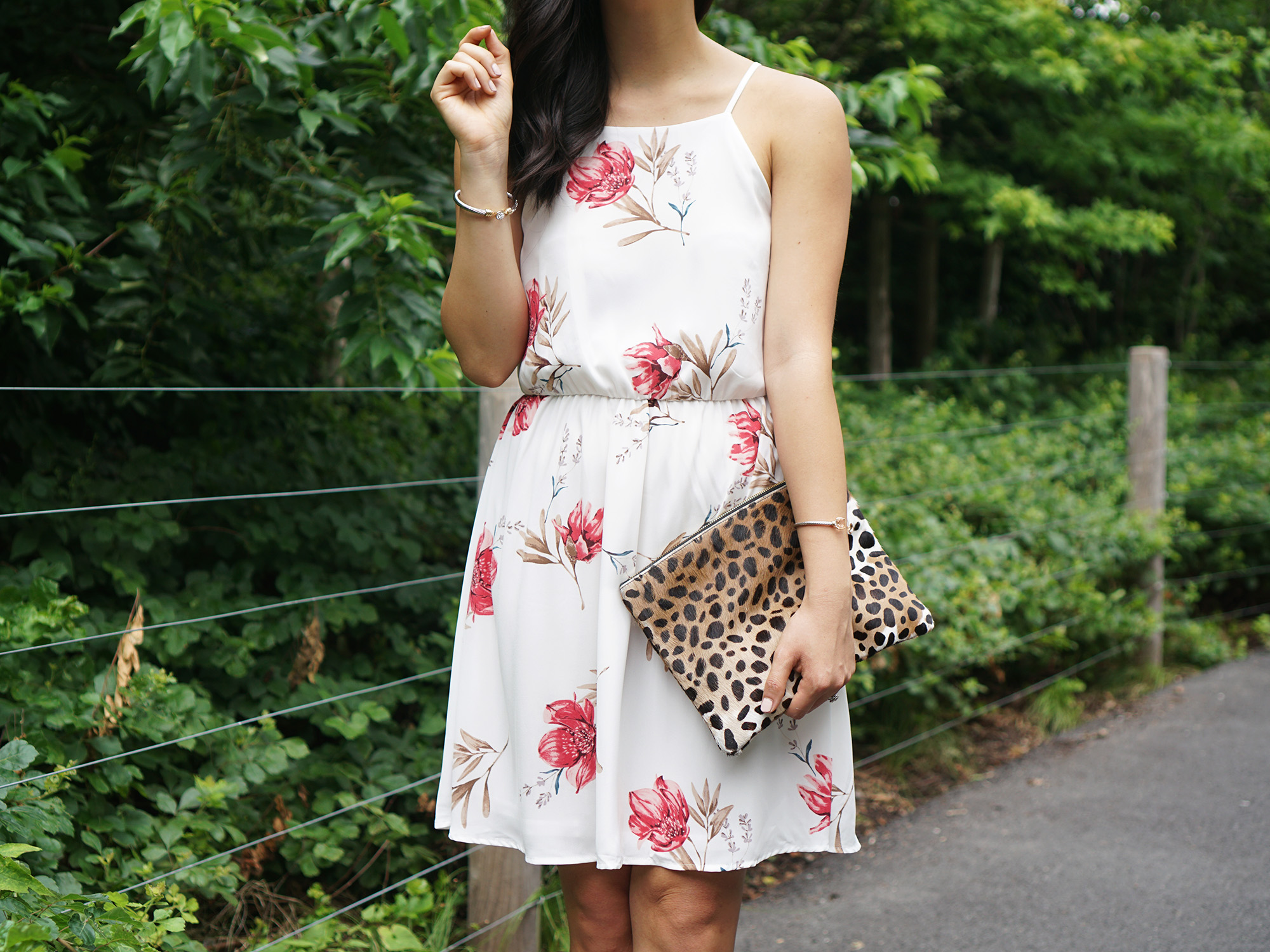 #NSale / White Floral Dress for $29