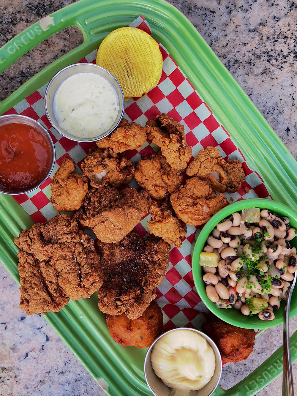 Fish Fry at Leon's Oyster Shop in Charleston