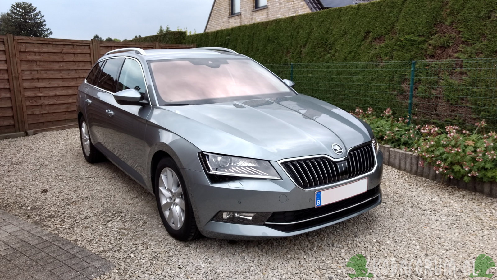Skoda Octavia Greenline 3 Superb Iii Combi Greenline Business Grey Stratos Velgen