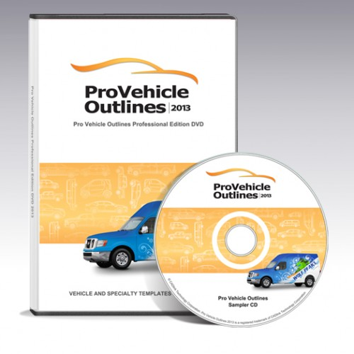 Pro Vehicle Outlines Professional Edition (2013) SkTorrenteu