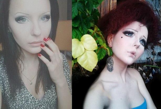 Анастасия Шпагина макияж