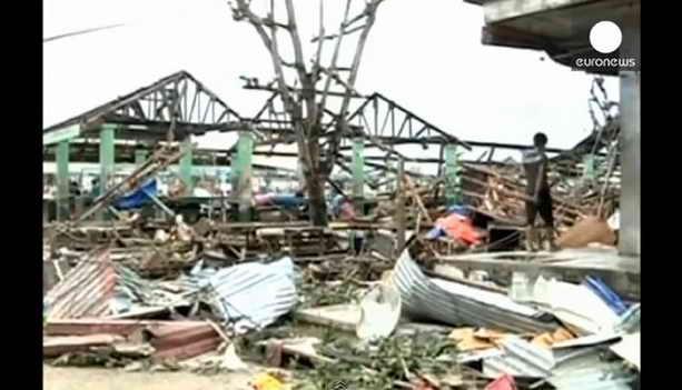 Последствия тайфуна Хайян