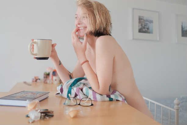 Леся Рябцева голая девушка