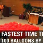 Собака по кличке Твинки вошла в Книгу рекордов Гиннеса по скорости лопания воздушных шариков