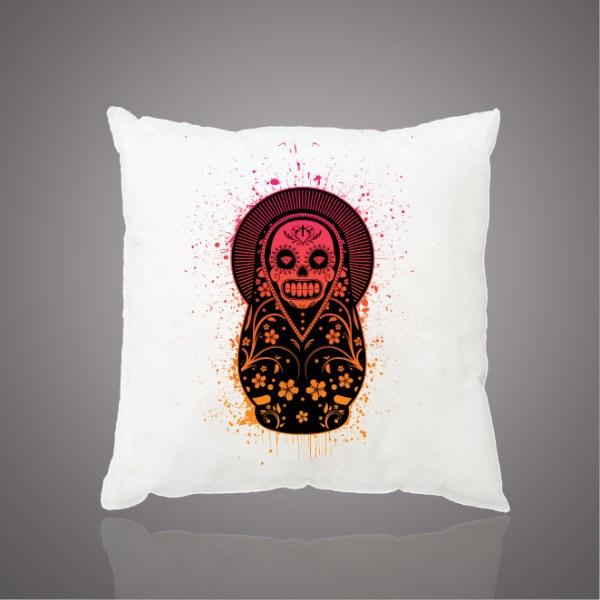 Images Produits - Coussin -Matrioshka skull