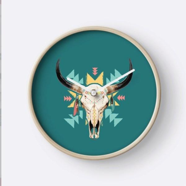 Horloge-BullSKULL-2