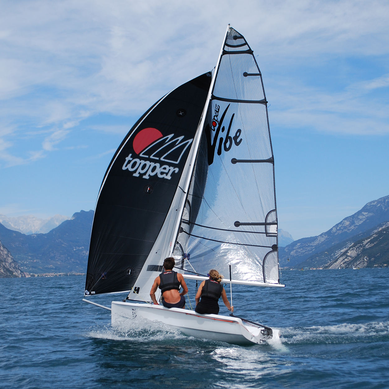 Laser Radial Te Koop Topaz Vibe And Vibe X A Great Introduction To Performance Sailing