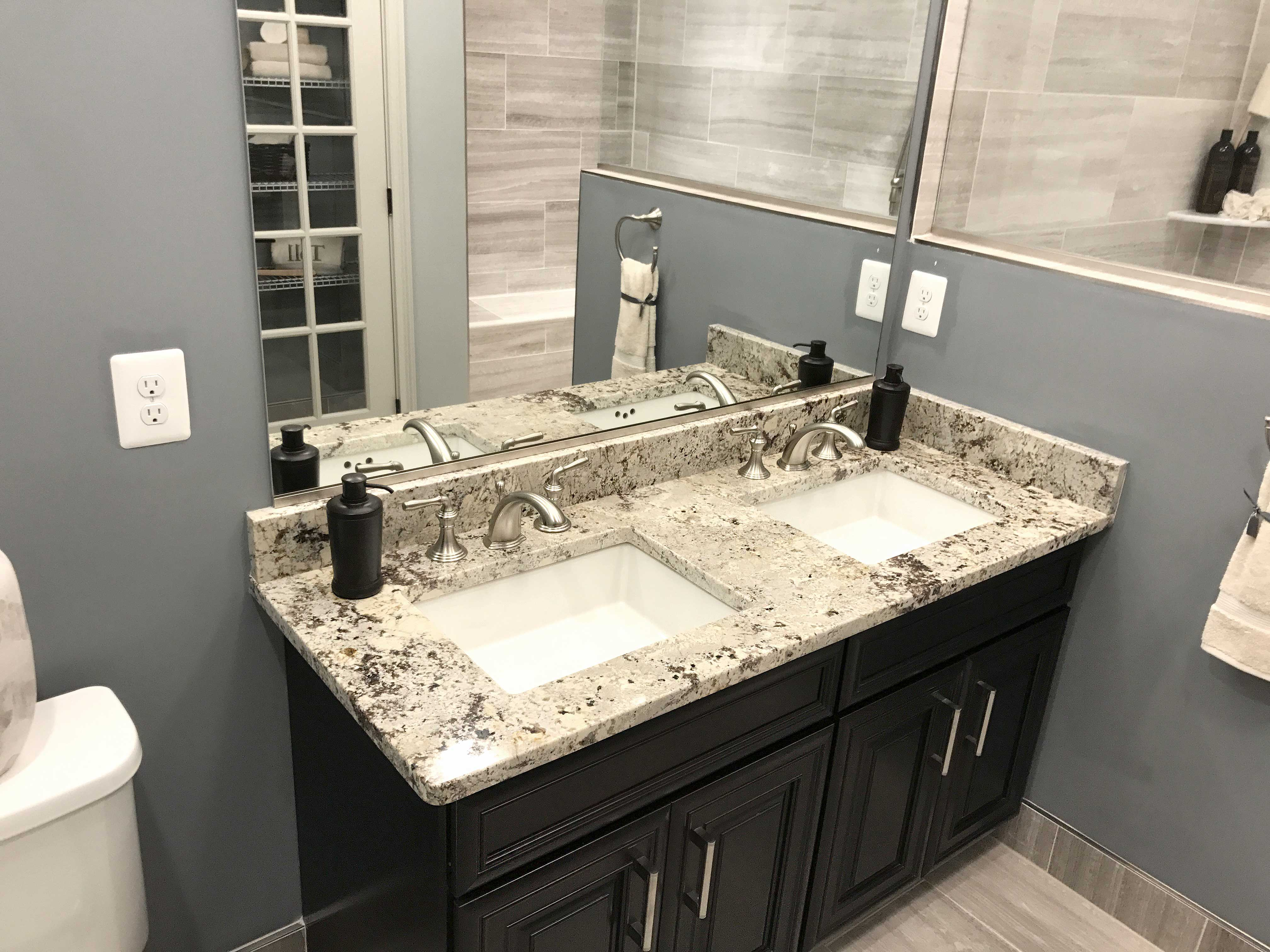 Alaska White Bathroom Vanities Granite Countertops Quartz Countertops Best Quality Kitchen And Bathroom Countertops Sky Marble And Granite Located In Sterling Virginia Va
