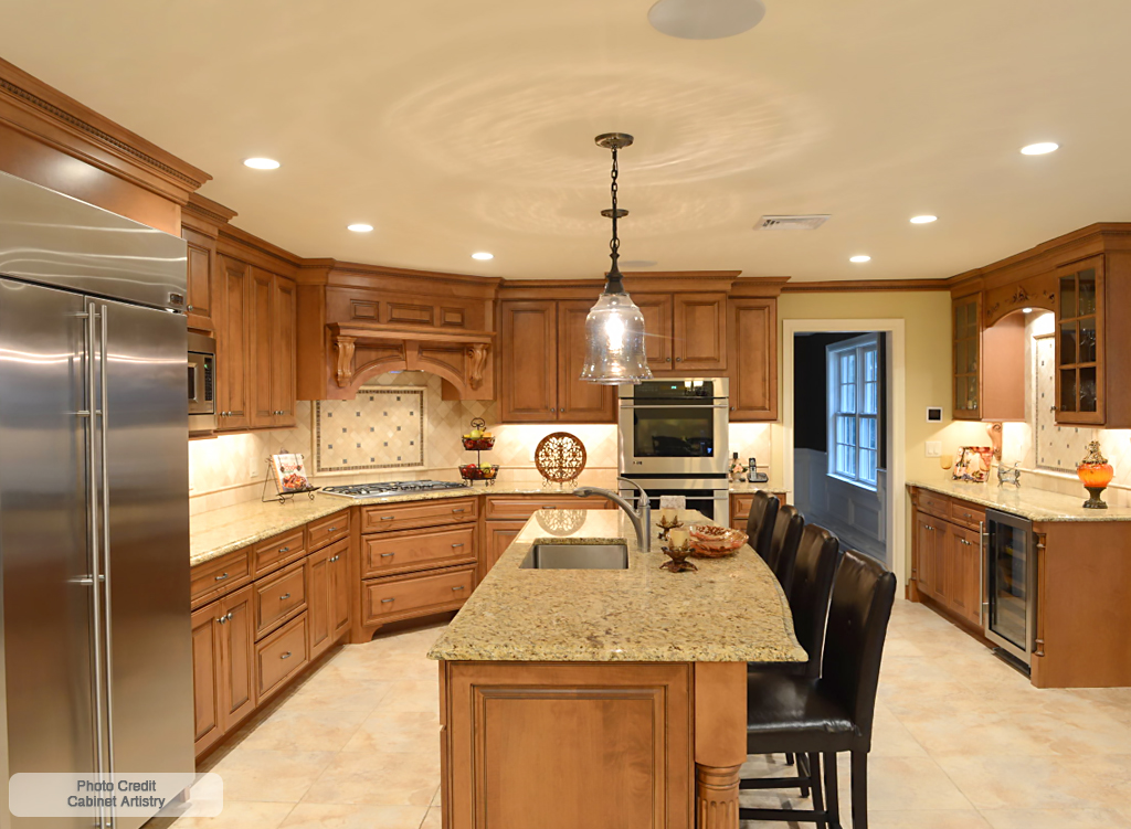 Giallo Napoli Granite Countertops In Sterling Va Md
