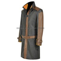 Watch Dogs 2 Aiden Pearce Leather Costume Coat