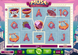 muse wild inspiration slot