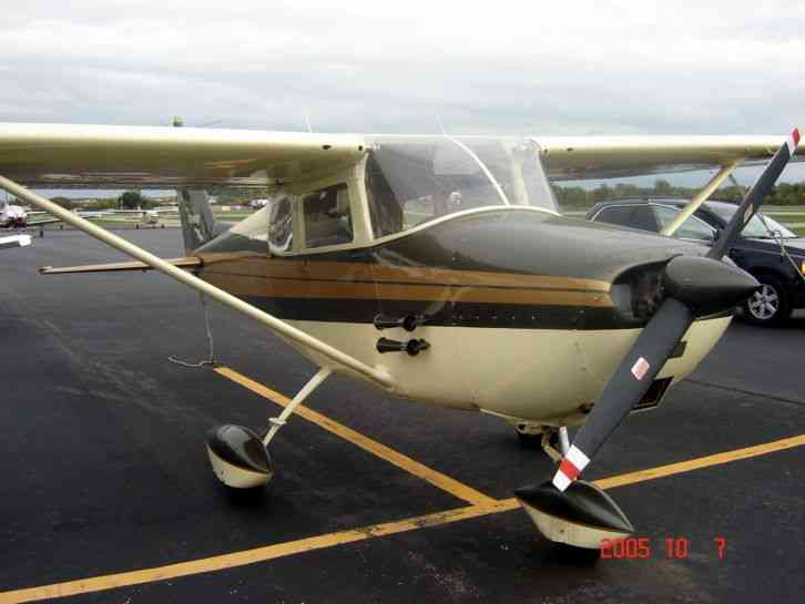 "Flying Ultralights Cessna 172a : ""7863t Has Had It's Mishaps Over The Past 55"