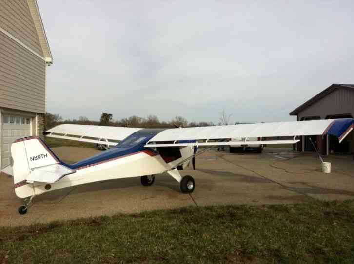 Flying Ultralights Kitfox : 2 With Nsi Subaru Engine. 350ttaf 205tte