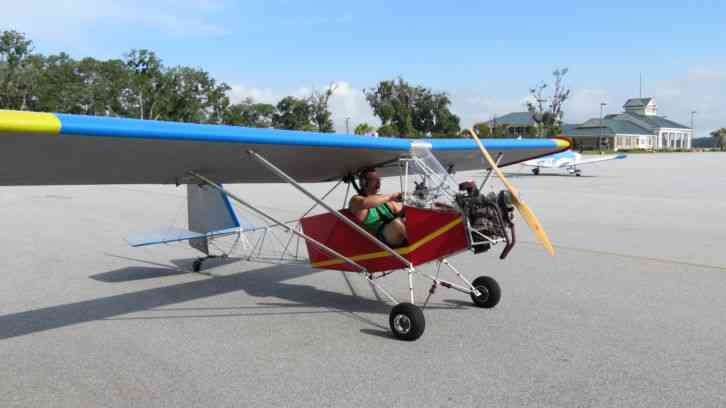 Flying Ultralights Eagle : 2010 Legal Xl Ultralight Serial Number 25