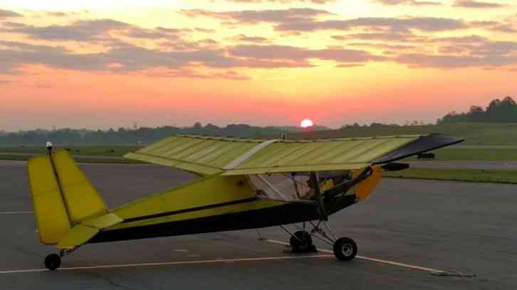 Flying Ultralights Ultralight Airplane Rans S4 Coyote With Rotax 503 Dcdi